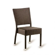 Vanna Stag Side Chair - Mocha Rattan